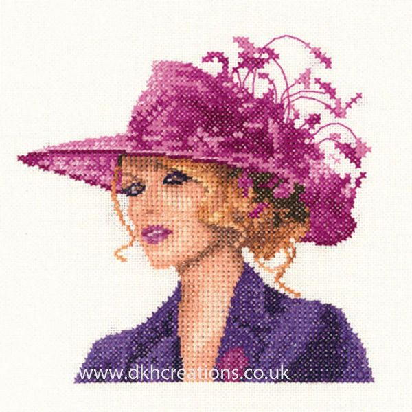 Sarah Miniature Evenweave Cross Stitch Kit